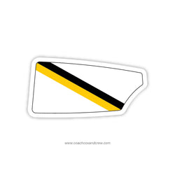 Purdue Crew Oar Sticker (IN)