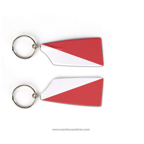 Queen City Rowing Club Rowing Team Keychain (OH)
