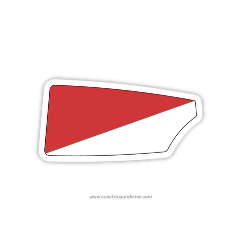 Queen City Rowing Club Oar Sticker (OH)