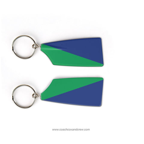 Quinsigamond Rowing Association Rowing Team Keychain (MA)