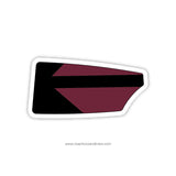 Radnor High School Crew-Boys Oar Sticker (PA)