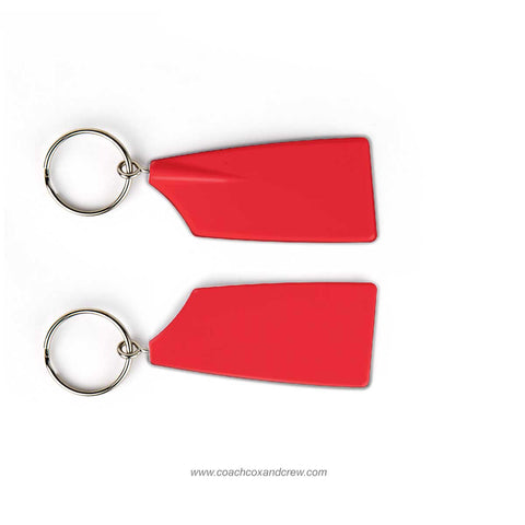 Solid Color Rowing Blade Keychains