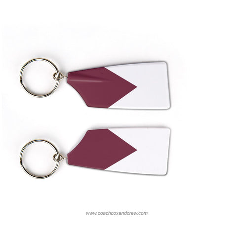 Redwood Scullers Rowing Team Keychain (CA)