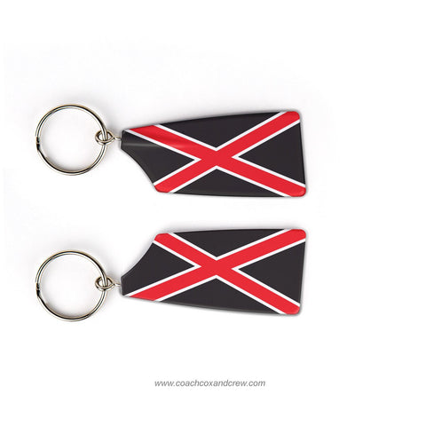 Rhodes College Crew Rowing Team Keychain (TN)