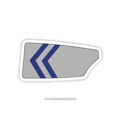 Rice University Rowing Club Oar Sticker (TX)