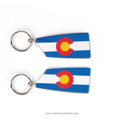 Rocky Mountain Rowing Club Team Keychain (CO)