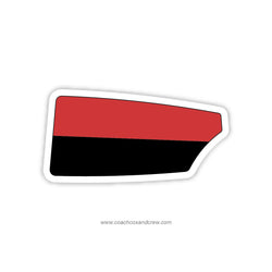 Rutgers University Oar Sticker (MD)