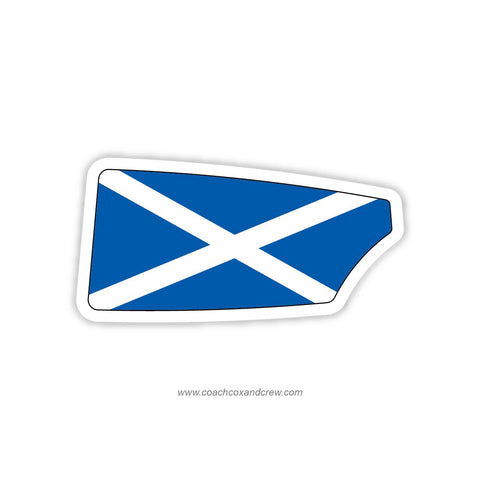 Scotland National Team Oar Sticker