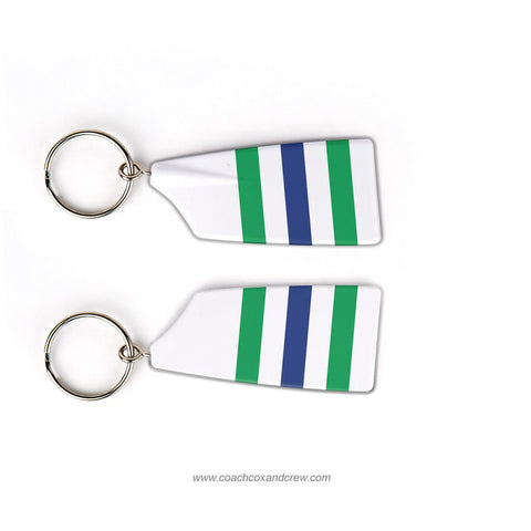 South County Secondary School Crew Club Rowing Team Keychain (VA)
