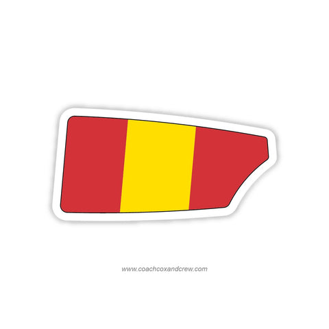 Spain National Team Oar Sticker