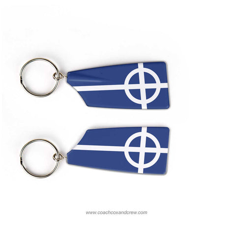 St Johns Preparatory School Rowing Team Keychain (MA)