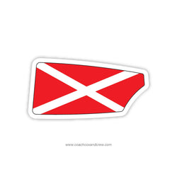 St Andrews School Oar Sticker (DE)