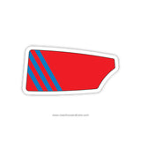 St Francis de Sales High School Oar Sticker (OH)