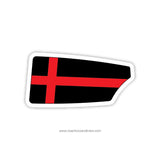 St Johns College High School Oar Sticker (DC)
