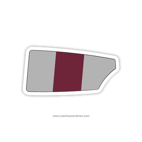 St. Joseph's University Women Oar Sticker (PA)