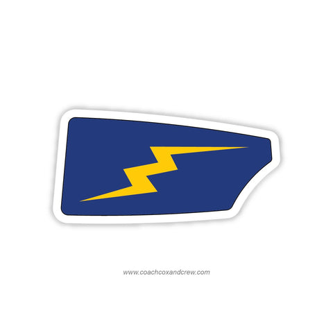 St Paul's Schools Rowing Association Oar Sticker (MD)