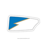 Stanton Riverbank Rowing Boys Oar Sticker (FL)