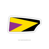 Steel City Rowing Club Oar Sticker (PA)