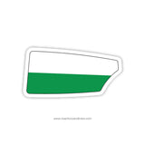 Stetson University Crew Oar Sticker (FL)