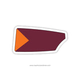 Susquehanna University Oar Sticker (PA)