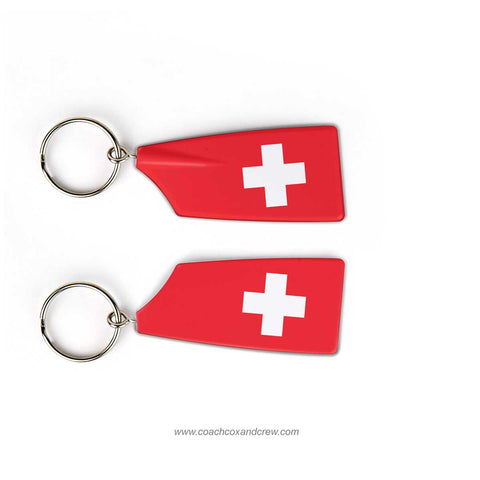 Switzerland National Rowing Team Keychain