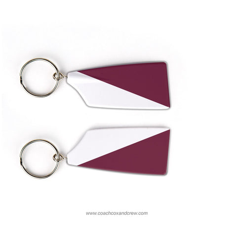 Texas A&M College Station Rowing Team Keychain (TX)