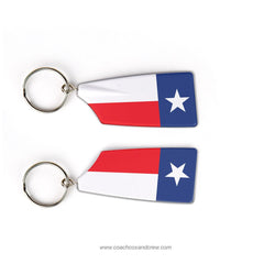 Texas Crew Rowing Team Keychain (TX)