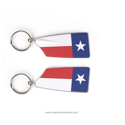 Texas Rowing Center Rowing Team Keychain (TX)