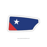Thomas Jefferson High School Crew Oar Sticker (VA)