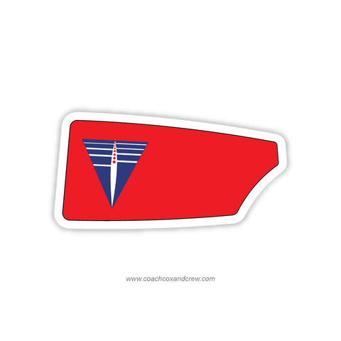 Three Rivers Rowing Association Oar Sticker (PA)