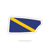 Trinity College Crew Men Oar Sticker (CT)