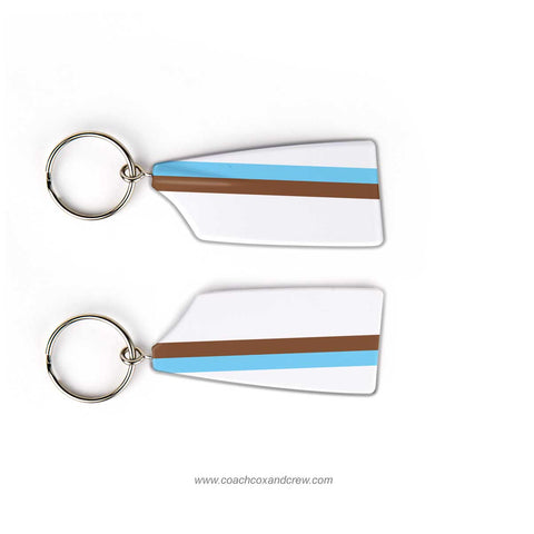 Tufts University Crew Rowing Team Keychain (MA)