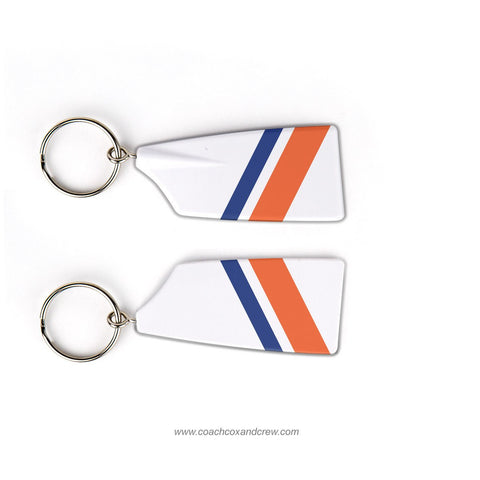 US Coast Guard Academy Rowing Team Keychain (CT)
