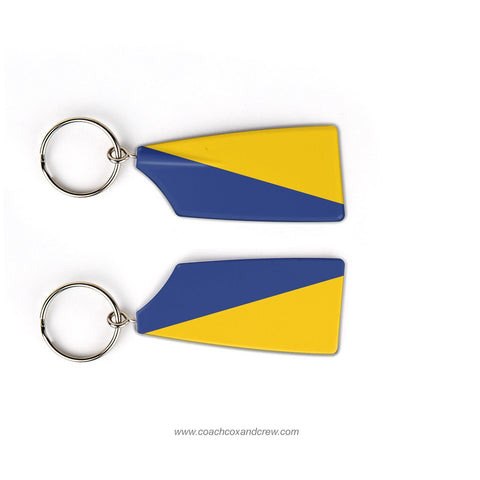 US Naval Academy Rowing Team Keychain (MD) Navy