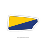 US Naval Academy Rowing Team Oar Sticker (MD)