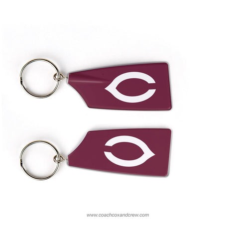 University of Chicago Rowing Team Keychain (IL)