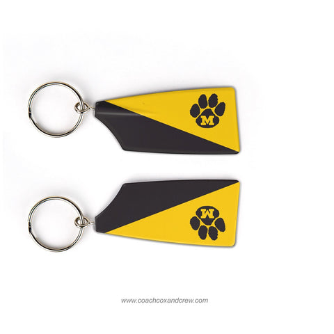University of Missouri Rowing Club Rowing Team Keychain (MO)