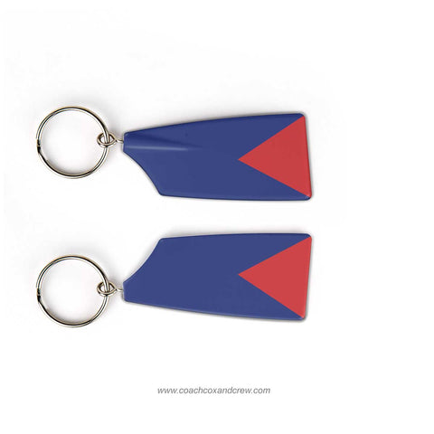 University of Pennsylvania Crew Rowing Team Keychain (PA)
