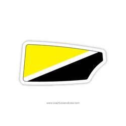 University of Iowa Men Oar Sticker (IA)