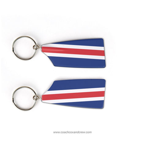 WT Woodson Crew Rowing Team Keychain (VA)