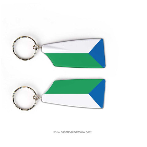 Wabash Valley Crew Rowing Team Keychain (IN)