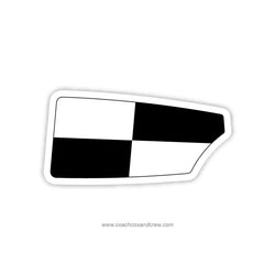 Walt Whitman Crew Oar Sticker (MD)