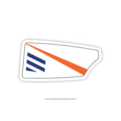 Waterloo Rowing Club Oar Sticker (IA)