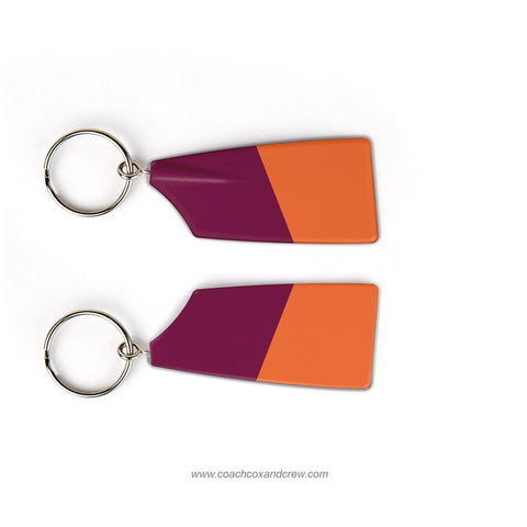 Wayland-Weston Rowing Association Rowing Team Keychain (MA)