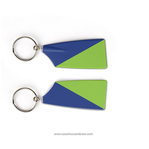 White Rock Boathouse Rowing Team Keychain (TX)