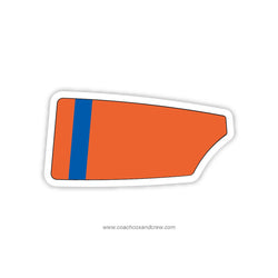 Wilmington Youth Rowing Association Oar Sticker (DE)