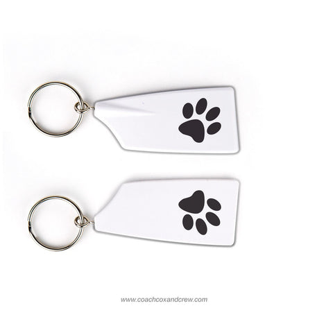 Winter Park Crew-Paw Rowing Team Keychain (FL)
