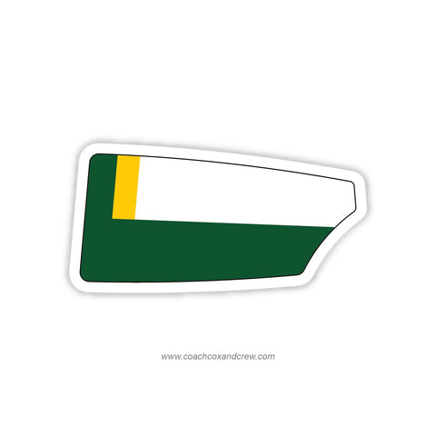 Woodbridge High School Crew Oar Sticker (VA)