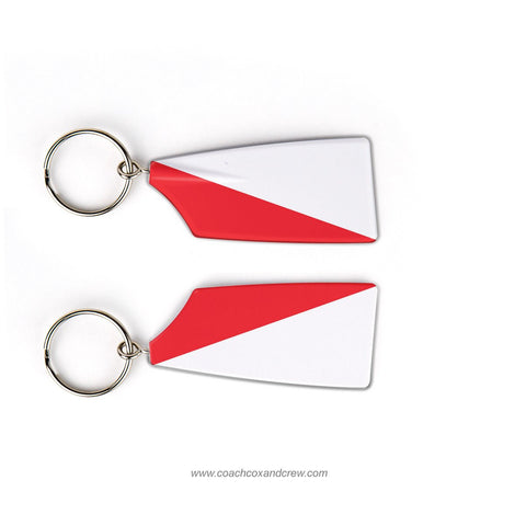 Y Quad Cities Rowing Rowing Team Keychain (IL)