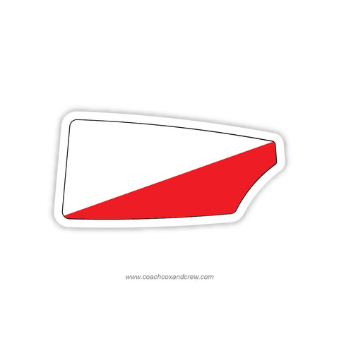 Y Quad Cities Rowing Oar Sticker (IL)